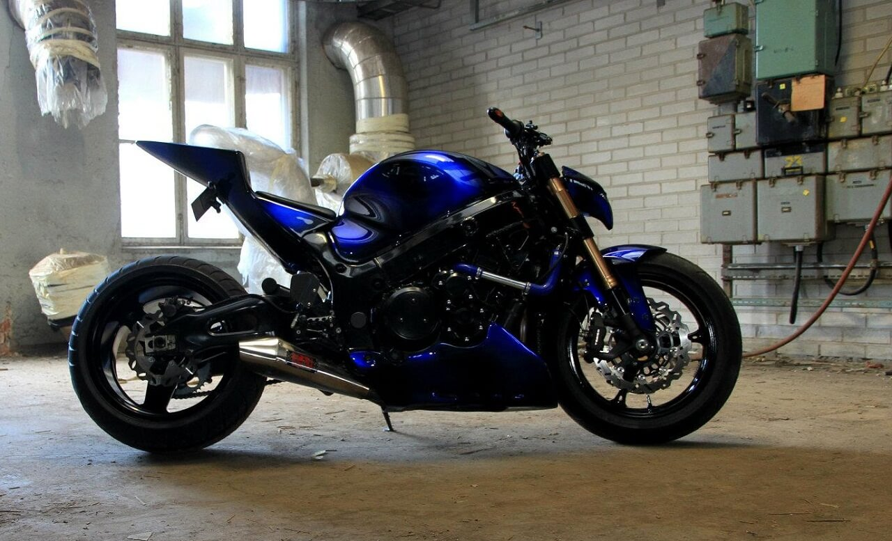 wicked suzuki hayabusa streetfighter  destroyer customs
