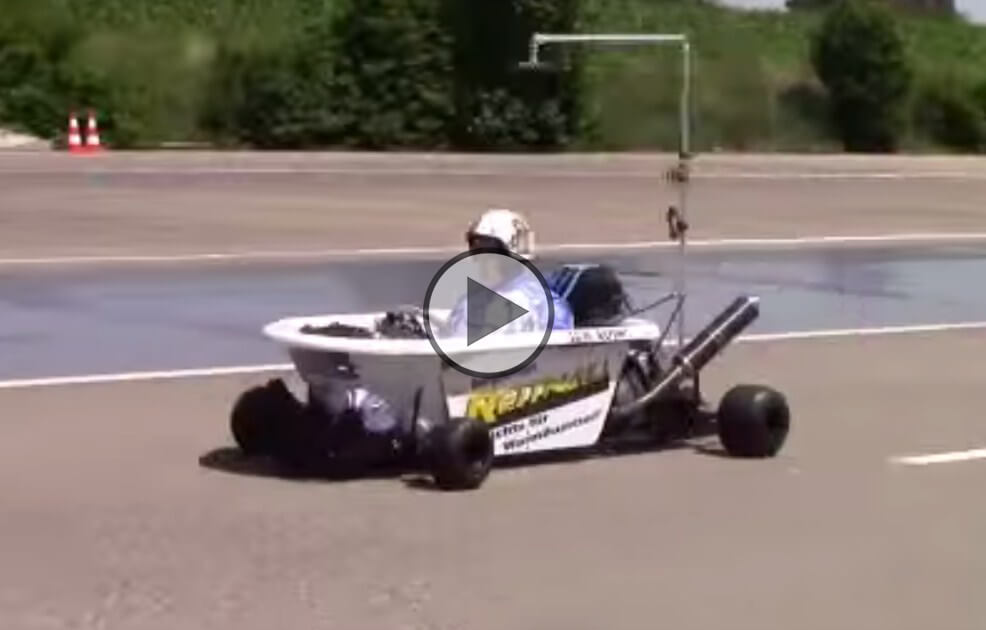 how to put a motorcycle engine in a go kart