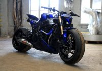 Wicked Suzuki Hayabusa Streetfighter by Destroyer Customs!