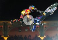 One Of The Best Bike Stunts On The FMX Competition – The Historic Bike Flip!