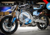 The 2016 Yamaha PES1 Electric Motorcycle Is Visually Stunning!