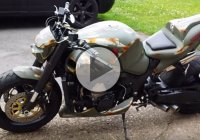 Awesome Looking Suzuki Hayabusa Streetfighter – Amazing Sound!