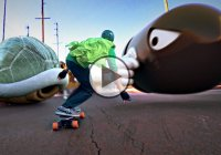 Mario Kart Skate, Or In This Case Luigi – Amazing Video!