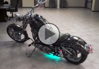 This Is One Of The Most Bad Ass Custom Skull Choppers!