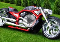 Custom Harley Davidson Supercharged V Rod by FREDY!