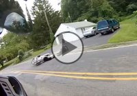 Double Motorcycle Crash With An Epic Ending!