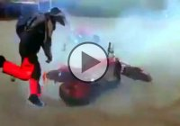 Watch These Guys As They Try To Tame An Out Of Control Bike!
