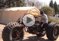 An Awesome Homemade Monster Trike – The Black Widow!