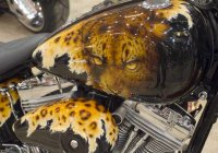 Some Insanely Cool & Wicked Motorcycle Tank Art!