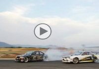 Nicolo Rosso and Adam Frank in a wicked drift battle!