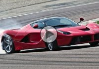 The LaFerrari hypercar in some wicked drifting action!