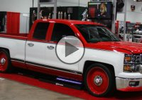 Chuck Mallett's retro styled 2014 Chevy Silverado, a real piece of work!