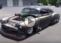 """Mr. Junk"", a nasty looking 1951 Chevy Rat Rod!"