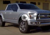 The 2015 Ford Atlas concept truck, bigger and lighter!