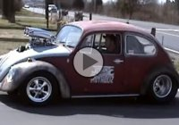 1969 Volkswagen Beetle with a blown V8 that makes 600HP!!