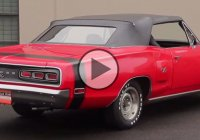 A sweet 1970 Dodge Coronet R/T Convertible powered by 440 Magnum V8!!