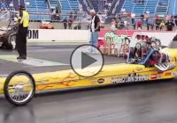 Front engine dragsters at Nostalgia drag races, Route 66 Classic!