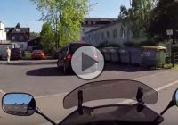 Biker witnessed a hit and run! Check out what he did next!