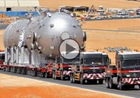 Road trains, or world's longest heavy duty trucks!