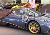 The unveiling of the one and only Pagani Huayra 730S edition to its owner!