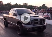 This Cummins powered Dodge with over 1000 HP is a drag strip killer!