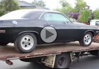 This 426 Hemi Challenger and many other Mopars were saved from a scrap yard!