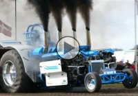 Slaedehunden, the most insane pulling tractor ever!!