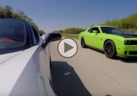 Corvette C7 Z06 vs Charger Hellcat vs Challenger Hellcat vs SRT Viper Street Racing!