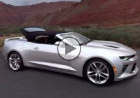 "First drive in the 2016 Chevy Camaro convertible called ""Open Sky""!!!"