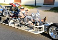 Check Out The God Among The Trikes – The Justryken V8 Trike!