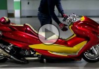 One Of The Craziest Yamaha Builds – The Yamaha Majesty Big Scooter!