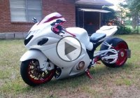 Custom Hayabusa With 360′ Rear And GSXR1000 Tail Conversion!