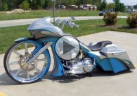 Custom Harley Davidson CVO Road Glide Bagger With 30 Inch Wheel By Custom Cycles LTD
