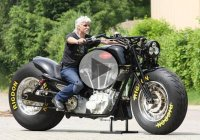 2014 Leonhardt Gunbus 410 – The World's Largest Road Legal Motorcycle!