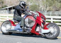 The Best Motorcycle You've Never Seen – The Travertson V-Rex!