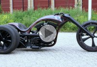 Two Extreme And Beautiful Creations By Bozzies – The S & S Trike and The Red Bull Dragster!