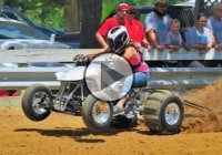 Extreme ATV Sand Drag Racing!