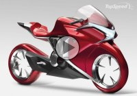 Stylish, Futuristic & Jaw Dropping Sports Bike – The Honda V4 Concept!