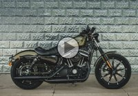 2016 Dark Custom Sportster 883 – Harley Davidson Forty Eight!