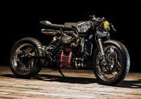 Ed Turner Remodels The Honda CX500 And It's A Visual Perfection!