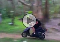 Insane Scooter Jump, You Have To See It To Believe It!!