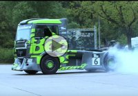 Becx-TDS Racing Presents: MAD Semi Truck Drift Gymkhana 1…Awesome!