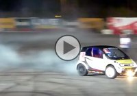 This Hayabusa-powered smart car is a mean drift weapon!