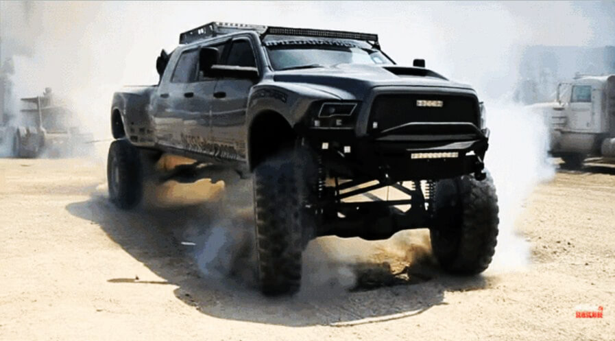 Mega Ram Runner 2012 Dodge Ram That Can Climb Rocks