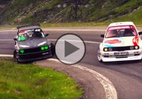 Ride The Mountains: Amazing Drift with E30 M3 BMWs up the Transfaragarsan Highway!