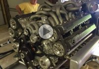 Quad Turbo v12 engine!!! Made out of 2 Supra engines! WOW! 2×2=4JZ