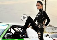 Stunning Russian singer and her new music video come with some cool drifting!