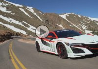 2016 Acura NSX as the pace car at Pikes Peak Hill Climb!