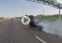 INSANE Drifting with Suzuki GSXR 1000…On Highway!