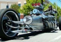 This crazy supercharged HEMI Trike will blow your mind!